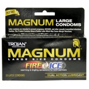 Trojan Magnum Fire And Ice - 10 Pack