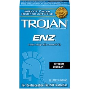 Trojan Enz Lubricated Condoms - 12 Pack TJ93750