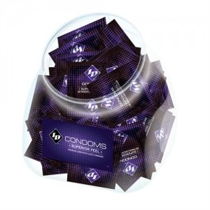 Id Superior Feel Condom Jar  - 144 Pieces