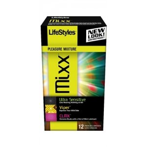 Lifestyles Mixx Condoms - 12  Pack