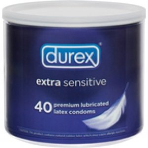 Durex Extra Sensitive 40 Pc Bowl