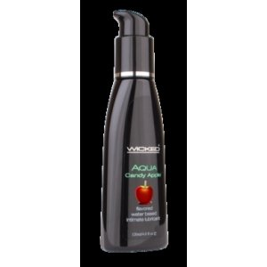 Aqua Candy Apple Flavored Water-based Lubricant 2 Oz.