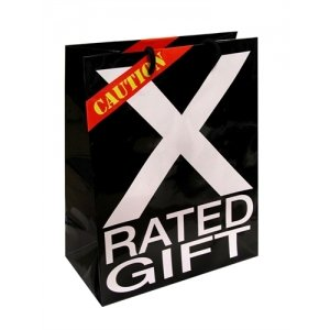 Caution X-Rated Gift Gift Bag