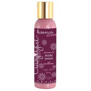 Crazy Girl Shimmer Me Body Lotion with Sex Attractant Sugar Plum Fairy - 4 Oz.