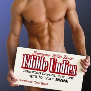 Male Edible Undies - Strawberry With Champagne