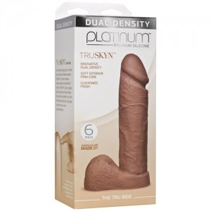 Platinum Truskyn - the Tru Ride 6 Inch - Caramel