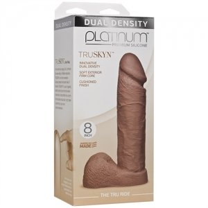 Platinum Truskyn - the Tru Ride 8 Inch - Caramel