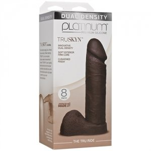 Platinum Truskyn - the Tru Ride 8 Inch - Chocolate