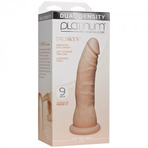 Platinum Truskyn - the Tru Ride Slim 9 Inch - Vanilla