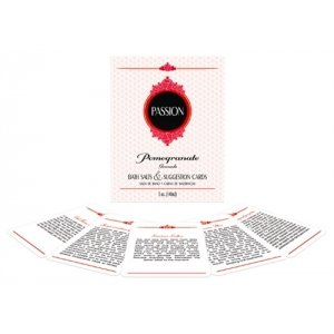 Passion Suggestion Cards Bath Set - Strawberry