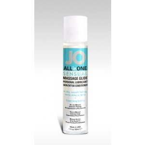 Jo All in One Massage Glide  Sensual Unscented - 1 Oz.