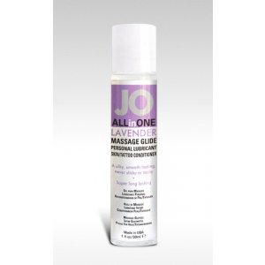Jo All in One Massage Glide  Lavender - 1 Oz.