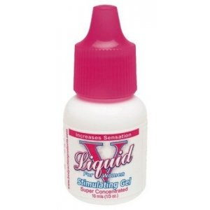 Liquid V for Women Female Stimulating Gel - 1/3 oz. Bulk