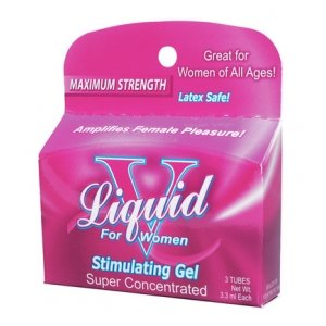 Body Action Liquid V for Women - 3 Unit Box