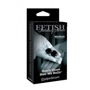 Fetish Fantasy Series Limited Edition Medium Black Glass