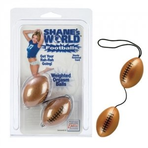 Shane's World Orgasm Balls - Footballs