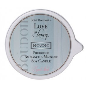 Body Boudoir Pheromone  Ambiance and Soy Massage  Candle - Sweet Blush