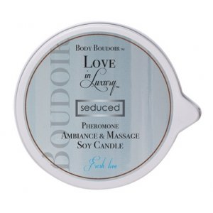 Body Boudoir Pheromone  Ambiance and Soy Massage  Candle - Fresh Love