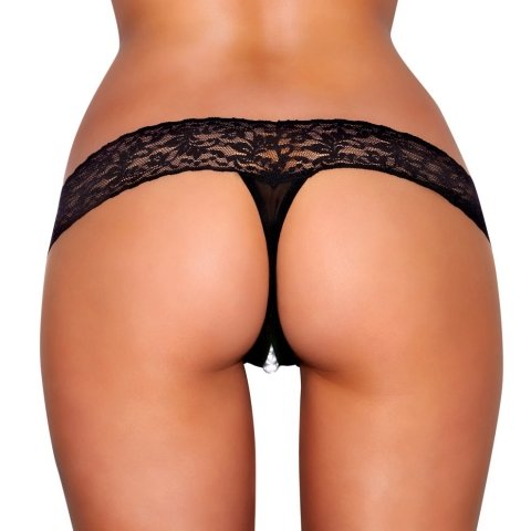 Hustler Toy Lingerie Clitoral Stimulating Thong With Beads