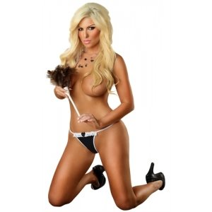 Dirty Deeds G-String - Black