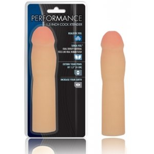 Performance 1.5-inch Cock  Xtender - Beige