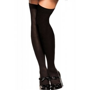 Opaque Thigh Highs - One Size