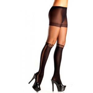 Sheer Spandex Panthyhose -  One Size