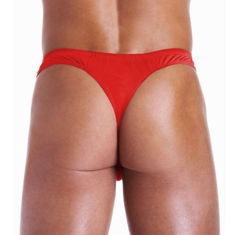 Thong with zipper
