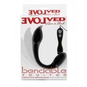 Bendable You Too Prostate - Black