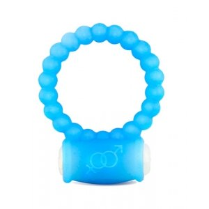 Gogo Bubble Vibrating Ring - Blue