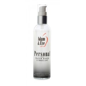 Adam And Eve Personal Water-Based Lubricant - 4 oz.