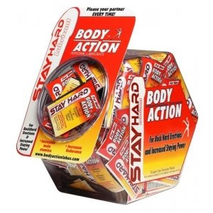 Stay Hard Climax Control Lubricant - 144 Foil Packets With Display