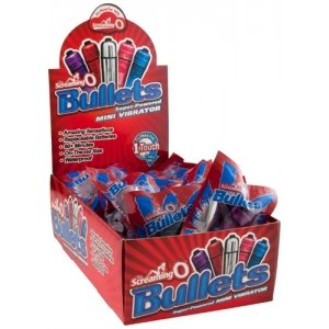 The Screaming O Bullets -  Assorted Colors - 20 Count  Box