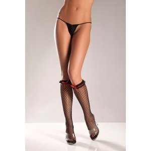 Fishnet Knee Highs - One Size