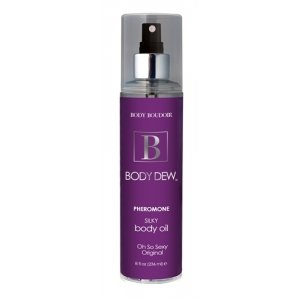 Body Dew Pheromone Silky Body Oil - Oh So Sexy Original - 8 oz.