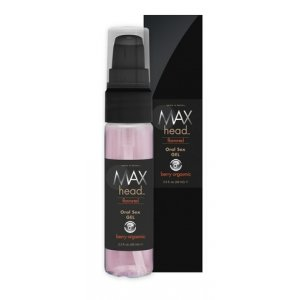 Max 4 Men Max Head Flavored Oral Sex - Berry Orgasmic - 2.2 oz.