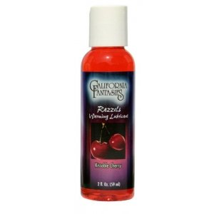 Razzels Warming Flavored  Lubricant Kissable Cherry -  2 Oz.