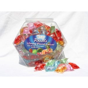 Razzels Asst Pillow Pak Fish- Bowl 144 Pc