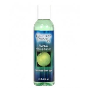 Razzels Warming Lubricant Pleasurable Green Apple - 4 oz.