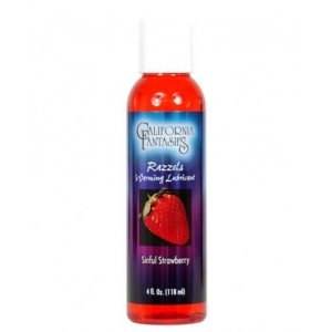 Razzels Flavored, Warming Lubricant Sinful Strawberry 4 oz.