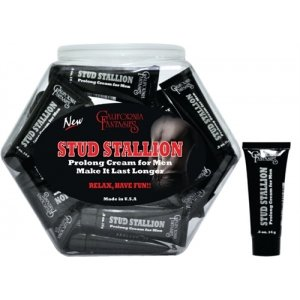 Stud Stallion Prolong Cream  for Men .5 Oz Tubes- 36 Piece  Fishbowl