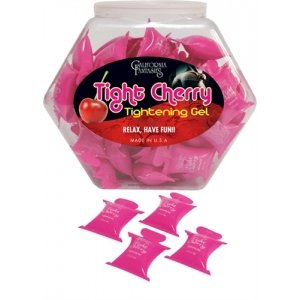 Tight Cherry Tightening Gel  for Her - 72 Piece Fishbowl