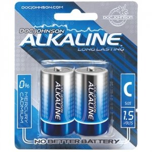 Doc Johnson Alkaline C Batteries