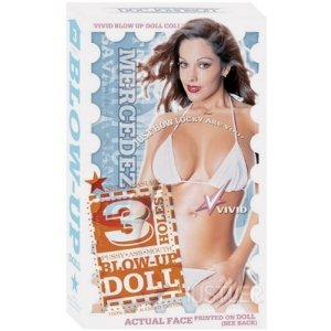 Vivid 3 Hole Doll with Actual Face - Mercedez