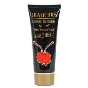 Oralicious: The Ultimate Oral Sex Cream, 2 oz. Tube - Cherry