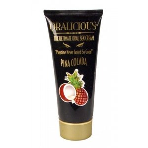 Oralicious: The Ultimate Oral Sex Cream, 2 oz. Tube - Pina Colada