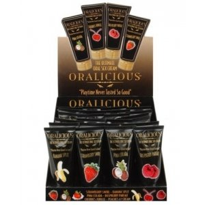 Oralicious: The Ultimate Oral Sex Cream, 2 oz. Tube - 24 Count Display