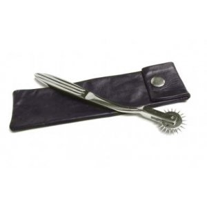 Wartenberg Pinwheel With Leather Sheath